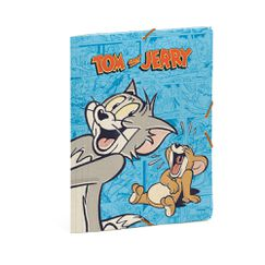 Папка с ластик Tom and Jerry от Busquets